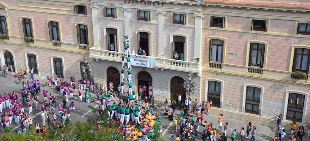 3d9 Castellers de Sabadell. Autor: David B.