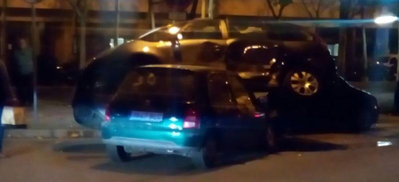 Foto portada: accident al carrer Manuel de Falla. Autora: D.López / cedida.