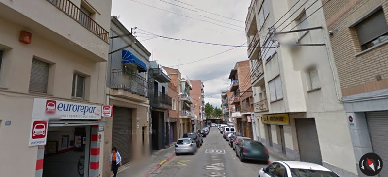 Foto portada: el carrer de Mauberme, a Ca n'Oriac.