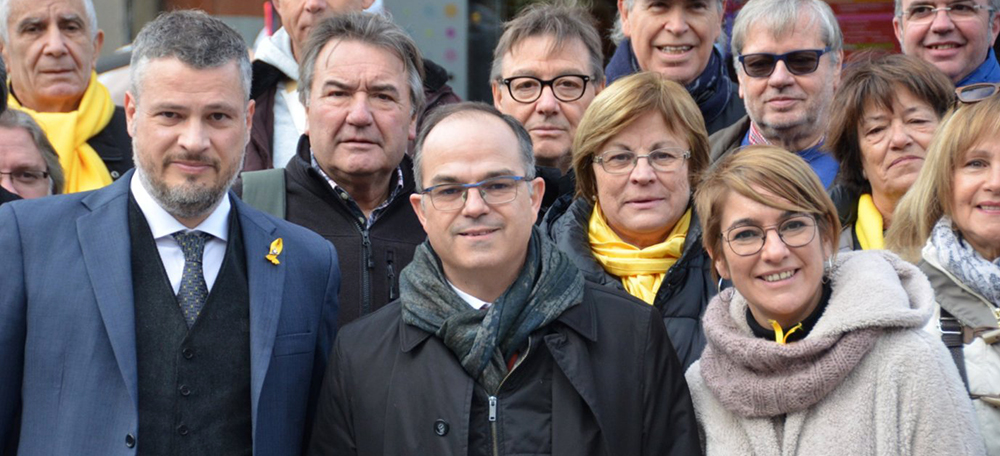 Alex Fenoll, Jordi Turull i Lourdes Ciuró. Autor: David B.