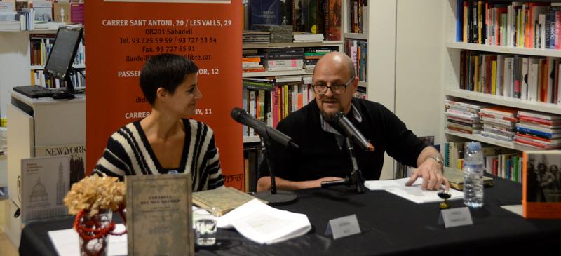 Presentació del llibre de Marian Burguès. Autor: David B.