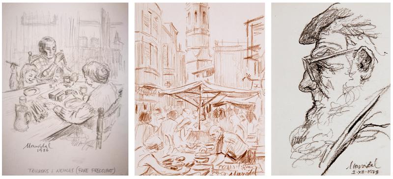 Dibuixos d'Agustí Masvidal.