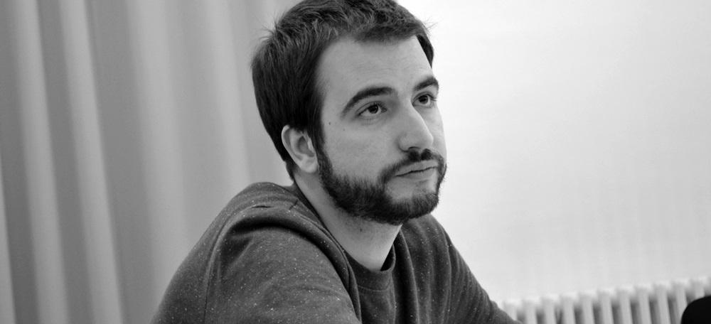 El periodista Ricard Ustrell. Foto: J.d.A.