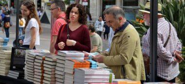 Foto portada: una parada de llibres, a Sabadell. Autor: David B.
