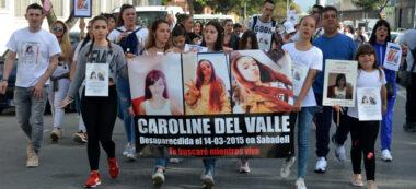 Foto portada: Manifestació per reprendre de la cerca de Caroline del Valle. Autor: David B.