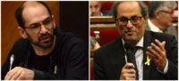 Foto portada: l'alcalde de Sabadell, Maties Serracant, i el president de la Generalitat, Quim Torra. Foto: David B / ACN.