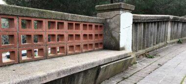 Foto portada: la barana del barri de Nostra Llar que Ciutadans reclama que s'arregli. Autor: cedida.