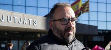 Foto portada: l'advocat de l'acusació popular, Raúl García Barroso. Autor: M.Tornel.
