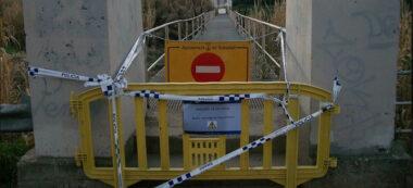 Pasarel·la Riu Ripoll. Autor: Policia Municipal