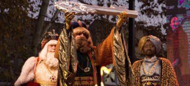 Foto portada: els Reis d'Orient, amb les claus de la ciutat. Autor: M.Tornel.