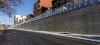 Foto portada: el mur, aquest dijous. Autor: M.Tornel.