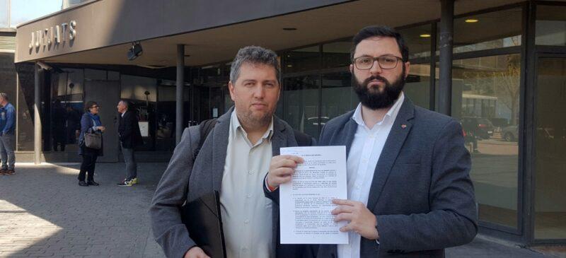 Foto portada: José Luis Fernández i Ramón García, als jutjats. Autor. Cs / cedida.