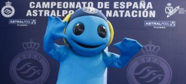 Clubi, la mascota del CN Sabadell camí del rècord