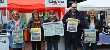 Foto portada: candidats de la llista Guanyem Sabadell. Autor: David B.