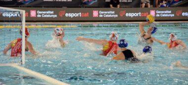 Foto portada: Steffens, en el quart gol del CN Sabadell. Autor: David B.