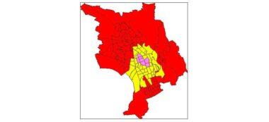 Foto portada: resultats del 26 de maig per seccions electorals.