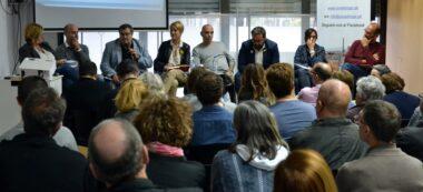 Martínez, Hernández, Vidal Ciuró, Berlanga, Fernàndez, Farrés i Serracant. Autor: J.d.A.