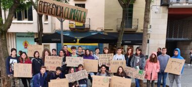 Manifestació de Friday for Future a Sabadell. Autor: cedida.