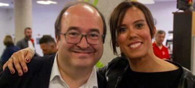 Foto portada: Iceta i Farrés, aquest divendres. Autor: cedida.