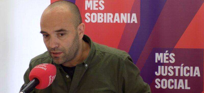 El cap de llista de Sabadell en Comú, Joan Berlanga. Autor: cedida.