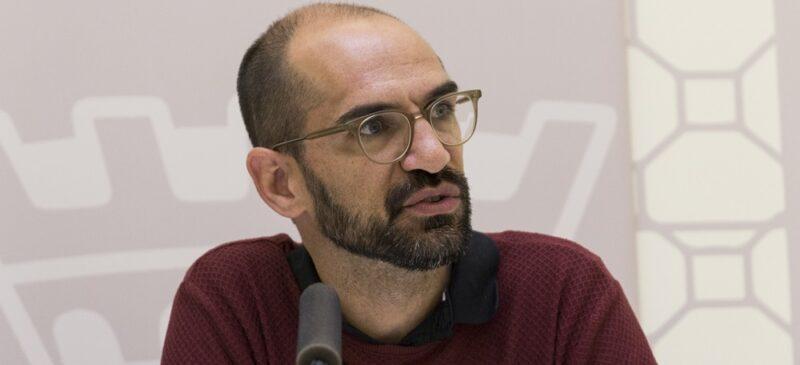 El candidat de la Crida, i actual alcalde, Maties Serracant. Autor: J.P