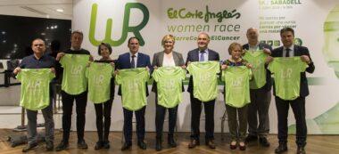 Foto portada: presentació de la Women Race, aquest dijous. Autor: M.Tornel.