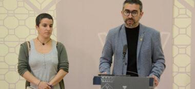 Gloria Rubio i Gabriel Fernàndez. Autor: David B.