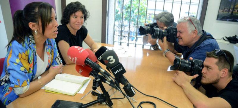 Marta Farrés i Marta Morell. David B.