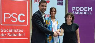 Pol Gibert, Marta Farrés i Marta Morell. Autor: David B.