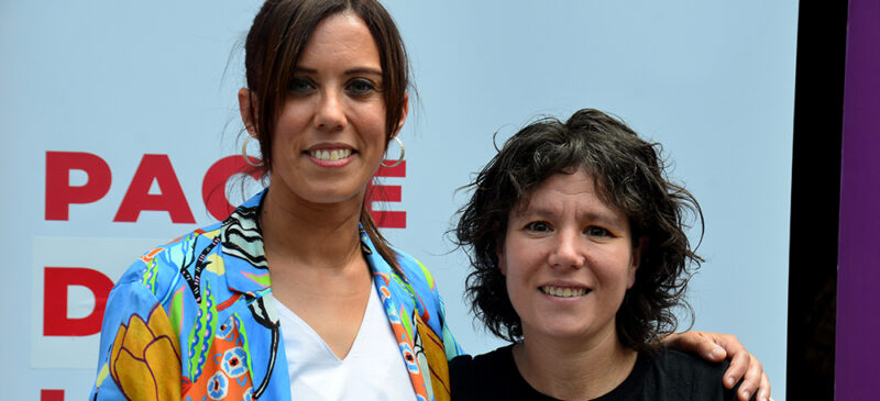 Marta Farrés i Marta Morell. Autor: David B.