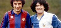 Foto portada: Osvaldo Dalla Buona i Diego Armando Maradona.