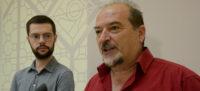 Eloi Cortés i Manuel Robles, en roda de premsa. Autor: David B.