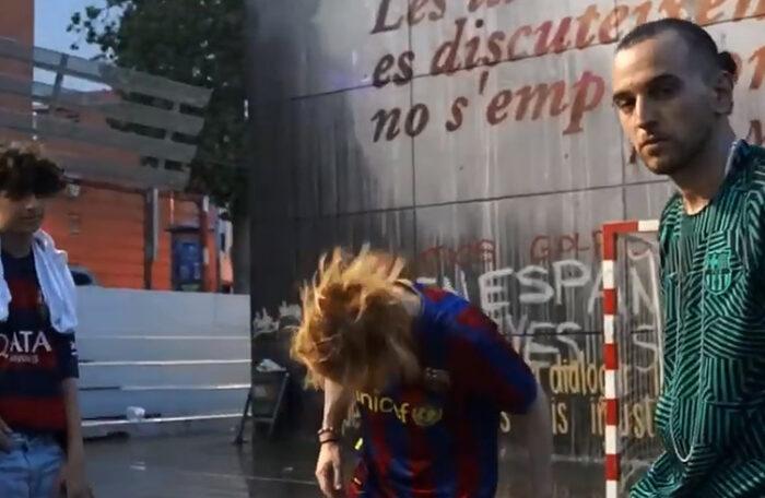 Nel·lo C en una imatge del darrer clip.