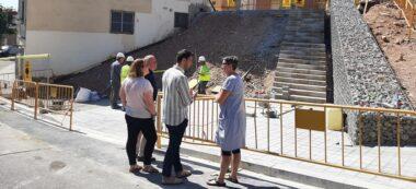 Foto portada: la regidora Mar Molina i el tinent d'alcaldessa Pol Gibert, a Can Puiggener. Autor: Aj Sabadell / cedida.