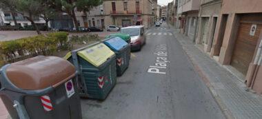 Foto portada: contenidors de la plaça Vallès. Autor: google Street View.