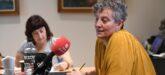 Foto portada: l'alcaldessa de Sant Qurize del Vallès, Elisabet Oliveras, a la dreta, durant la trobada amb els mitjans. Autor: cedida.
