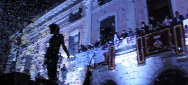 Foto portada: espectacle inaugurar de la passada Festa Major. Autor: David B.