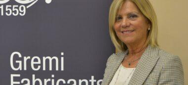 Foto portada: la nova presidenta del Gremi de Fabricants, Rosvi Moix. Autor: cedida.