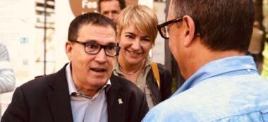 Foto portada: Cuevillas i Ciuro, amb un assistent. Foto: cedida.