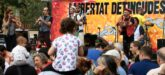 Imatge general d'una de les actuacions a Sabadell en la jornada de solidaritat amb els detinguts el 23-S. Imatge del 20 d'octubre del 2019. (horitzontal)