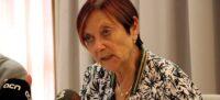 Pla mitjà de Margarita Arboix, rectora de la UAB, en roda de premsa el 30 de maig de 2019. (Horitzontal)
