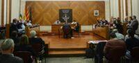 Foto portada: votació al ple d'ordenances fiscals. Autor: David B.