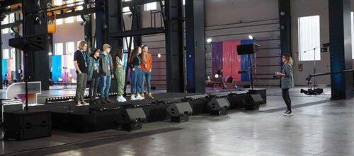 Foto portada: un moment de la gravació, a Fira Sabadell. Foto via RTVE.
