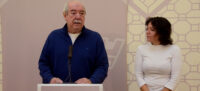 Foto portada: Manuel Navas i Marta Morell, en la presentació del Fòrum de Democràcia Local. Autor: David B.