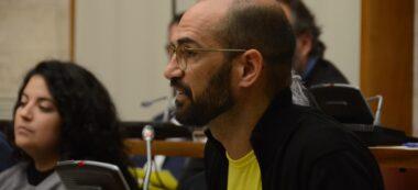 Foto portada: l'exalcalde de Sabadell i ara regidor a l'oposició Maties Serracant. Autor: David B.