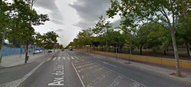 Foto portada: l'avinguda de Lluis Companys. Foto via Google Street View.