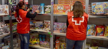 Botiga joguines Creu Roja. Autor: David B