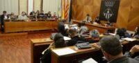 Foto portada: el ple municipal, aquest dimarts. Autor: David B.