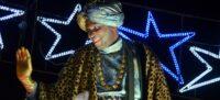 Foto portada: el rei Baltasar, a la cavalcada 2020. Autor: David B.