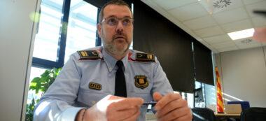 Enric Cervelló, cap de l'Àrea Bàsica Policial de Sabadell. Autor: David B.